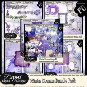 WINTER DREAMS BUNDLE PACK - TAGGER SIZE