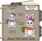 Bunny With Carrot Script