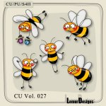 CU Vol. 027 Bees by Lemur Designs