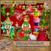MAKING READY CHRISTMAS TIME KIT - TAGGER SIZE