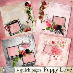 Puppy love quick pages