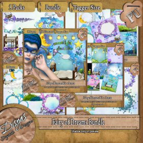 FAIRY OF DREAMS BUNDLE PACK - TAGGER SIZE