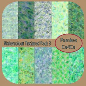 Watercolour Textured Papers Pack 3