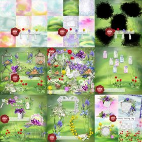Sunny Spring Day Kit Bundle PU by Lemur Designs