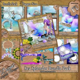SEA SPLENDOR BUNDLE PACK - TAGGER SIZE