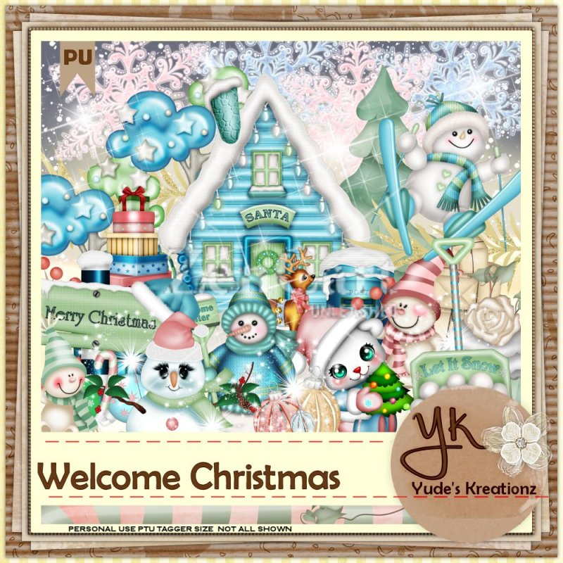 Welcome Christmas - Click Image to Close