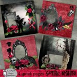 Gothic nights quick pages