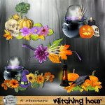 Witching hour clusters