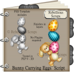 Bunny Carrying Eggs Script