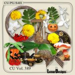 CU Vol. 389 Autimn Flowers Mix by Lemur Designs