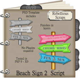 Beach Sign 2 Script