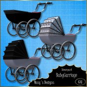 Steampunk Baby Carriage