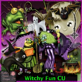 Witchy Fun - CU