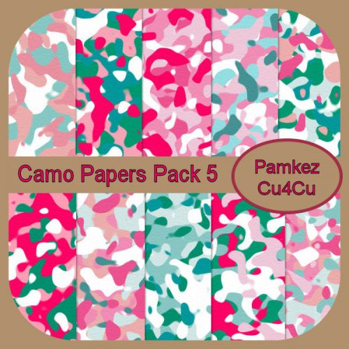 Camo Papers Pack 5