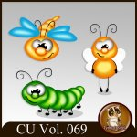 CU Vol. 069 Insects by Lemur Designs