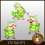 CU Vol. 071 Insects by Lemur Designs