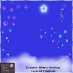 Dreamer Effects Overlays - Layered Template CU