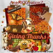 AngelKKreationZ-Giving Thanks TS Scrap Kit PU