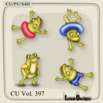 CU Vol. 397 Frog Summer by Lemur Designs