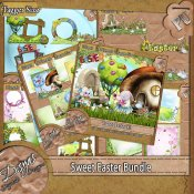 SWEET EASTER BUNDLE PACK TAGGER SIZE
