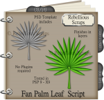 Fan Palm Leaf Script