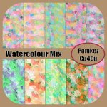 WaterColour Mix Papers
