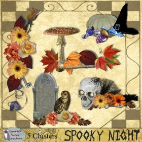 Spooky night clusters