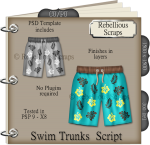 Swim Trunks Script