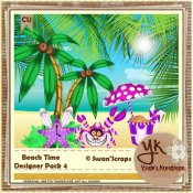 Beach Elements Pack 4