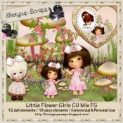 Little Flower Girls CU Mix FS