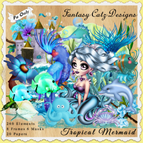 FCD Tropical Mermaid