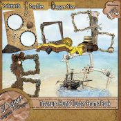 TREASURE HUNT CLUSTER FRAME PACK - TAGGER SIZE