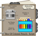 Box Of Colored Pencils Script