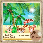 Beach Elements Pack 3
