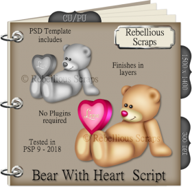 Bear With Heart Script