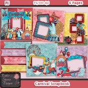 Carnival Scrapbook - Ready To Print