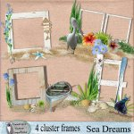 Sea Dreams cluster frames