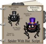 Spider With Hat Script