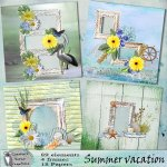 Summer vacation quick pages
