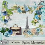 Faded memories clusters