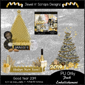 Embellishments - Good Year 2019