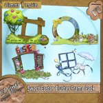 SWEET EASTER CLUSTER PACK TAGGER SIZE