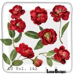CU Vol. 142 Flowers by Lemur Designs