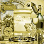 Golden New year