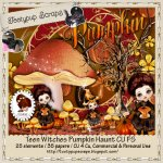 Teen Witches Pumpkin Haunt CU Mix FS
