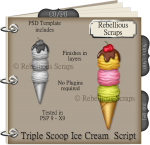 Triple Scoop Ice Cream Script