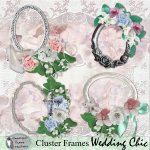 Wedding Chic cluster frames