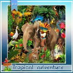 Tropical adventure PU