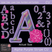 Alpha Purple Stripe - TS CU