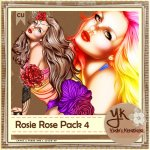 Rosie Rose Pack 4